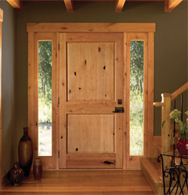 JeldWen Authentic Wood Exterior Door